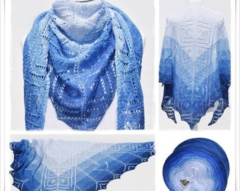 Knitting Pattern Lace Shawl Mare
