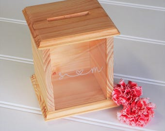 Wedding Wishing Well / Guest Book / Wood Box /
