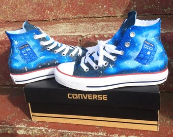 Doctor who converse high tops