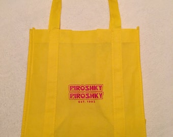 Piroshky Piroshky Grocery Reusable Bag