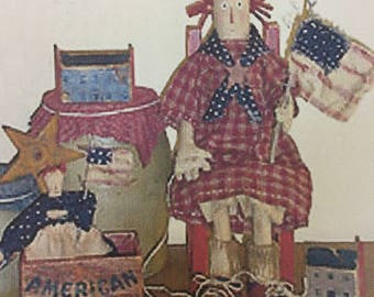 Rustic Raggedy Doll Patter