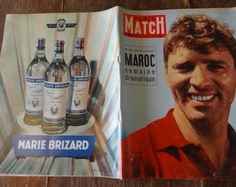 Vintage French Paris Match Magazine No 330 Burt Lancaster Special circa 30 Juil July 1955 / English Shop