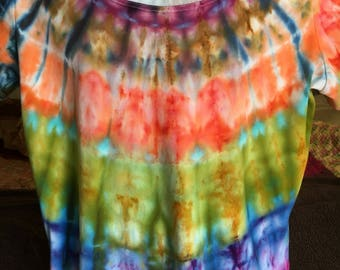 Womens ice tye dye XXL shirt