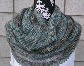 PDF Knitting Pattern - Jailhouse Shawl