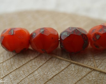 Red Rogue, Czech Beads, Beads,6-2
