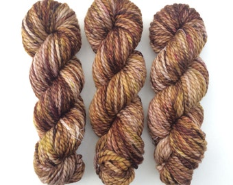 Into The Woods, chunky yarn, bulky yarn, hand dyed yarn, indie dyed yarn, speckled yarn, wool