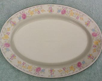 Made in China platter, Chinese mark