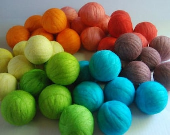 Organic Felted Wool Dryer Balls
