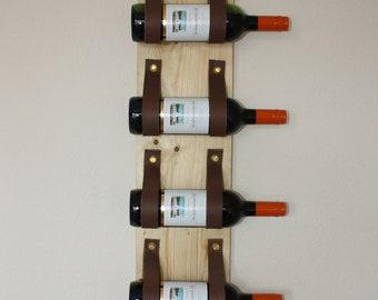 Wooden Wine Rack | | Wedding Gift | |  Wine Rack Wand | | Wall Decoration | | Birthday Gift
