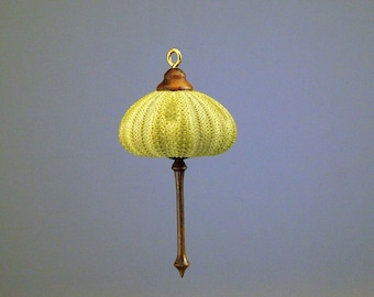 Hanging Ornament- Green Sea Urchin  (OR66)