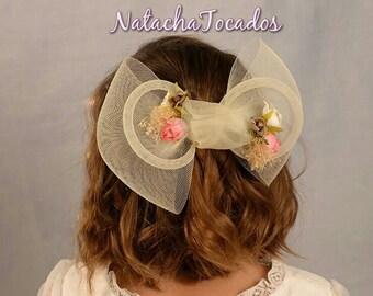 Mane and flowers headdress