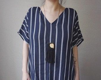 E C L I P S E // Mini Weaving Woven Fiber Necklace