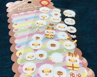 Fuzzy Sheep Stickers.