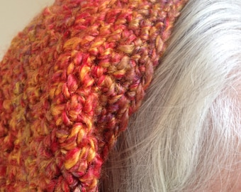 Crocheted Slouchy Hat - Now at a LOWER PRICE!
