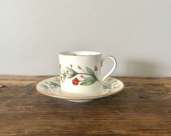 """Minton """"Meadow"""" China Demitasse Cup and Saucer"""
