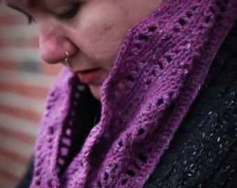 Fluvial - a crochet cowl pattern