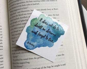 Dwell on Dreams Bookmark