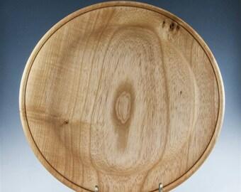 Handturned Wood Platter - Ash