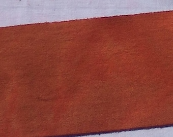 Tapis de laine de - laine citrouille Primitive - tissu accrocher - applique et l'artisanat - l'artisanat primitif - quilting arts de l'aiguille - couture --016 de teint à la main