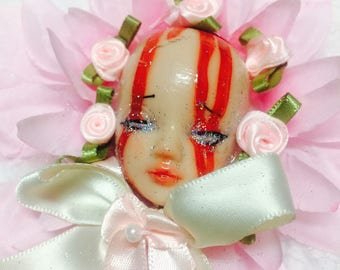 Pastel Pink/Pastel Aesthetic Lolita Brooch