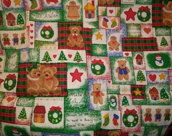 Holiday Spirit Christmas Cotton Fabric