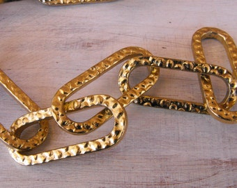 Brass lamp parts etsy chain vintage lamp chain chain parts hanging lamp chain chain aloadofball Choice Image