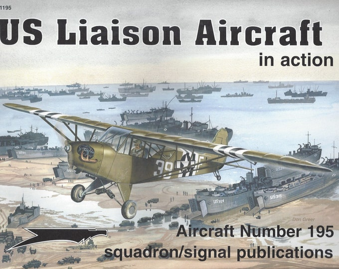 US Liason Aircraft-In Action  Aircraft No 195 (Paperback)