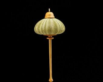Ornament- Green Sea Urchin & Cottonwood (OR55)
