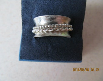 Sterling silver, one of a kind, handcrafted
