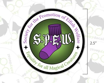 Sticker - SPEW - Harry Potter Inspired Sticker
