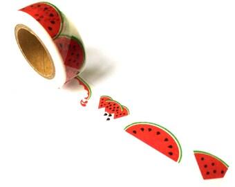 Washi Tape Watermelon