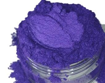 Pixie  PurpleViolet  Plum  Mineral Eye Shadow 10g Sifter Jar Gray eyeshadow Vegan Natural mineral Mica Makeup