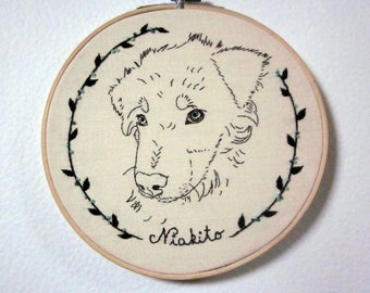 Custom dog portrait (or any other pet portrait) 2