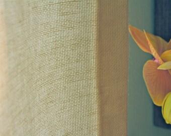 Linen & Cotton Blend Drape Panel