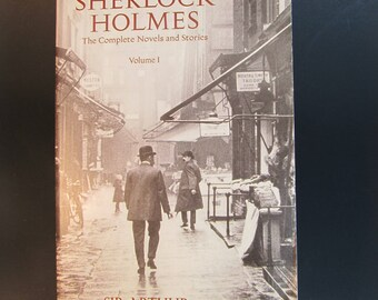 SHERLOCK HOLMES, complete novels and stores, vol 1, Arthur Conan Doyle