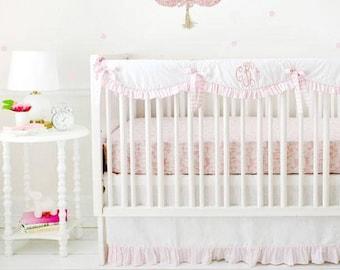Born Wild in Pink Crib Baby Bedding Set
