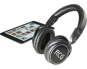 Custom Bluetooth Headphones - Wireless Music Headphones with Laser Engraving