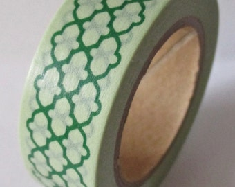 """CLEARANCE Washi Tape """"Morocco""""  15mm x 10meters"""