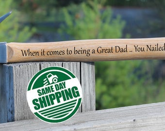 Engraved Hammer Dad, Fathers Day Gift, Engraved Hammer Fathers Day, Fathers Day Gift from daughter, Fathers Day gift from son, Dad Hammer