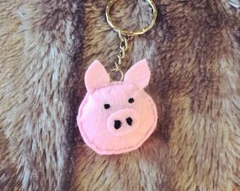 Pig key ring - 0020