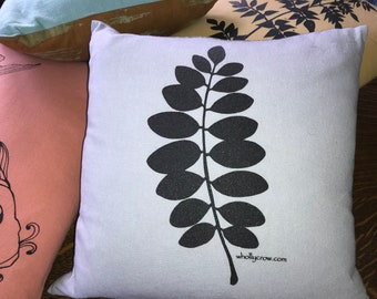Pillow with Leaf