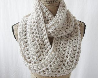 Instant Download Crochet Infinity Scarf Pattern Cowl Neck Warmer