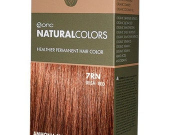 ONC NATURALCOLORS 7RN Irish Red Hair Dye with Organic Ingredients