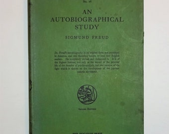 1946 SIGMUND FREUD - An Autobiographical Study with Dust Jacket, Psychoanalysis, Dreams, Autobiography