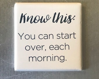 Know this...Custom made 1.5 x 1.5  magnet