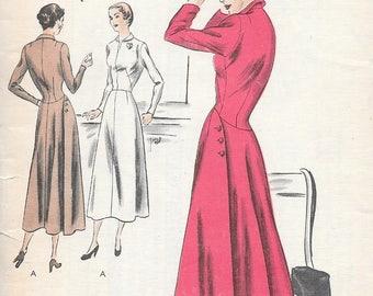 Vintage 1950s Vogue Special Design Pattern S - 4888 - Misses' One-Piece Dress size 14 bust 34, hip 37, uncut FF