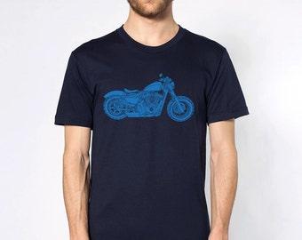 KillerBeeMoto: Limited Release Modern American Classic Looking Motorcycle Short & Long Sleeve Motorcycle Shirt