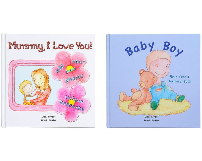Mummy, I Love You! & Baby Boy Bundle - Choose from 3 Hair/Skin Colour Options