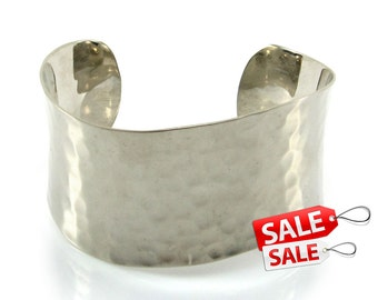 Silver Cuff Bracelet Silver Bracelet Cuff Brass Cuff Bracelet Brass Bracelet Cuff Wide Cuff Bracelet Silver Hammered Bracelet Cuff 005