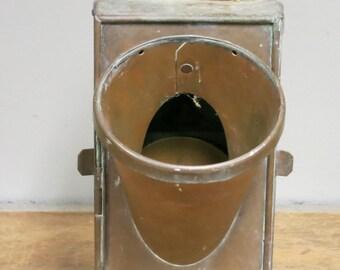 Antique Brass Navigation Marine Lantern